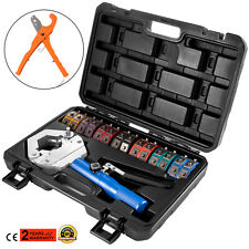 71500 Hydraulic A/C Hose Crimper Kit Air Conditioning Repair Tools w/ Cutter