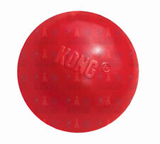 KONG CLASSIC BALL MEDIUM/LARGE KB1 Red Tough Durable Dog Rubber Chew Toy