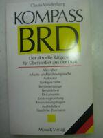 Vandervorg Kompass BRD aktuelle Ratgeber für Übersiedler aus der DDR Ausreise