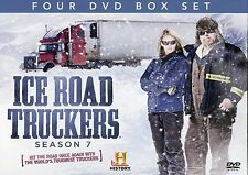 ICE ROAD TRUCKERS SEASON 7 4DVD SET HISTORY CHANNEL THE WORLDS TOUGHEST TRUCKERS