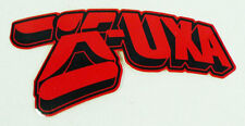 UXA Red & Black Skateman Logo Decal Sticker 3.5""