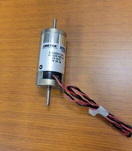 Ametek Pittman 24VDC Motor 8124A007 -R1 w/ pre-tinned power leads. robot hobby