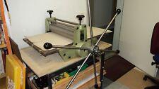 Radierpresse Druckpresse  Litho & Kupferdruckpresse mit Getriebe und Zahnstangen