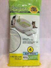 Breeze Tidy Cat Litter Pads refill pack 4 ct