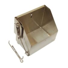 Stainless Drop Out Battery Box Tray Hot Rod Race Rat Fits Chevy Ford Sbc bbc