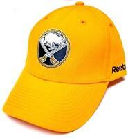 Buffalo Sabres NHL Reebok BL Wool Yellow Structured Hat Cap Adult Men Adjustable