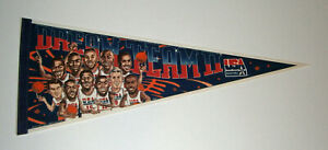 1996 Dream Team II USA caricature pennant Scottie Pippen Barkley Wilkins Dumars