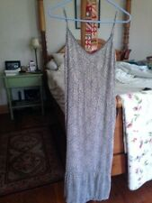 Sandwich of London extraordinary long dress Small size 38 fully-lined