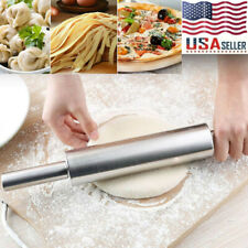 Stainless Rolling Pin Pasta Cookies Pastries Pizza Pastry Dough Baking Kitchen