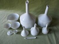 """THE ROYAL WORCESTER COLLECTION"", VINTAGE PORCELAIN LAB WARE {CHEMISTRY} ENGLISH"