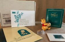 Winnie the Pooh & Pin Disney WDCC figurine time for something sweet honey tree