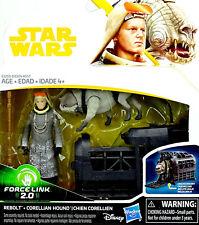 "Star Wars ""Solo A STAR WARS STORY"" rebolt & Corellian Hound & cage dans le Set Hasbro"