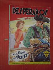 DESPERADOS DI J.MALLORQUI N° 175-B- DARDO 1958 -RARO ROMANZO COLLANA DEL COYOTE
