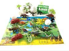 31Pc Jurassic Dinosaur Playset Toy Animals Action Figures Set T Rex Triceratops