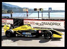 Alex Fontana  Autogrammkarte Original Signiert Motorsport + G 25189