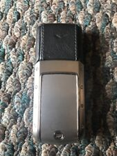RARE vertu Ascent Ti Black Leather (u.s.seller)