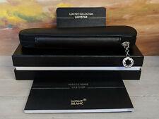 MONTBLANC LadyStar Black Leather 1-pen Pouch