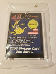 Pro-Mold 1-Screw Screwdown Card Holder Mini Allen & Ginter Tobacco T-206