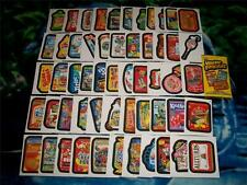 2014 Wacky Packages Series 1 Complete 55 Sticker Card Set