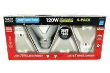 FEIT Elec. Par38 Reflector Ind/Outdoor Fluorescent Flood Light Bulbs 4Pk NEW O/B