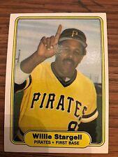 1982 Fleer Willie Stargell Pittsburgh Pirates #499