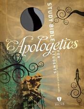 Apologetics Study Bible for Students, Black/Gray Simulated Leather, , Good Book
