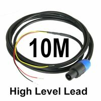 10M Neutrik Speakon High Level Lead for REL & MJ Subwoofer