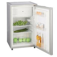 B-Ware Kühlschrank mit Gefrierfach E Silber 88L -18°C 4-Sterne-Gefrierfach