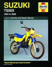 1599 Haynes Suzuki TS50X (1984 - 2000) Workshop Manual