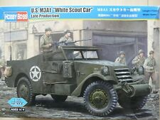 """Maquette 1/35 Hobby Boss U.S. M3A1 """"White Scout car"""" Late Production ( Ref 82452"""