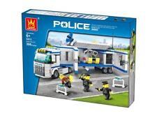 Wange Mobile Police Unit Name Brand Compatible Bricks & Blocks