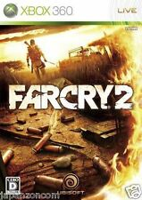 Used Xbox 360 Far Cry 2 MICROSOFT JAPAN JP JAPANESE JAPONAIS IMPORT