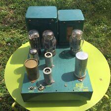 Vintage Altec-Lansing 340a Tube Power Amplifier