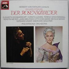 Coffret 4 LPs box KARAJAN : Strauss Der Rosenkavalier / EMI SLS