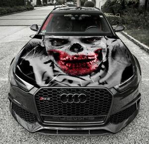Vinyl Car Hood Wrap Full Color Graphics Decal Zombie Apocalypse Custom Sticker