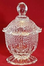 Un BELLISSIMO PESANTE pressato PICCOLO CANDY Bowl. peso 0.540 KG