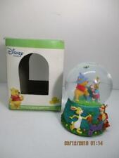 Disney's Winnie the Pooh Snowglobe Musical Snow Globe by Enesco IN BOX