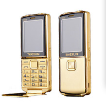 Unlocked 8800i Dual Sim Magic Voice Bluetooth SOS Metal Body Flip Mobile Phone
