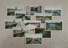 Vintage Panama Canal Postcard Collection 1930 >> Lot of 11 <<