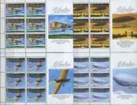Gibraltar 2010 Transport, Aviation, Airplanes, Zeppelin MNH**