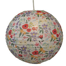 "dotcomgiftshop SUMMER MEADOW DECORATIVE 16"" PAPER LAMPSHADE"