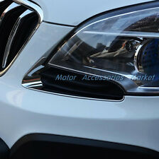 New Chrome Front Light Trim For Opel Vauxhall Mokka Buick Encore 2013 2014 2015