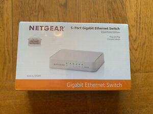 NETGEAR GS205 Network Switch - White