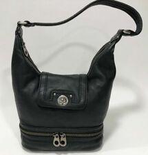 Marc By Marc Jacobs Women's Small Black Shoulder Bag Zipper Around Bottom Purse