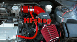 RED For 2002-2006 Mitsubishi Lancer 2.0L 4cyl OZ LS ES Air Intake + Filter