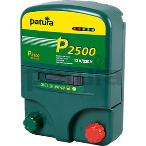 Patura® P2500 Multi Function Energiser for Electric Fences - 142200
