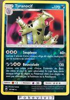 Carte Pokemon TYRANOCIF 87/168 HOLO REVERSE Soleil et Lune 7 SL7 FR NEUF