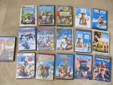Lot,16 chidrens DVD's, movies, Ice Age, Shrek, Over the Hedge