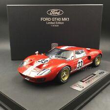 DreamPower 1:18 Ford GT40 MK1 GT40MK1_Red