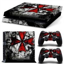 Umbrella Res Evil PS4 Protective Skin Sticker Set Console and 2 Controllers -#94